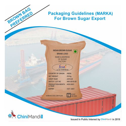 Guidelines on quality and packaging of sugar for export