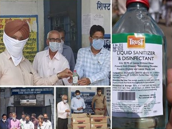 Simbhaoli Sugars' Trust Hand Sanitisers hailed as truly a public-private partnership 'For Rural India, by Rural India' in India's fight against COVID-19