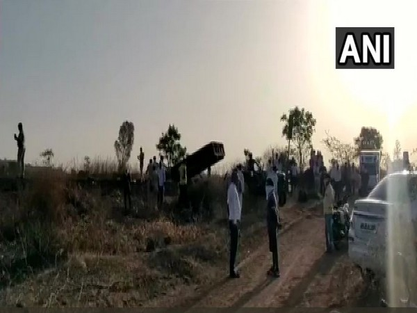 Visuals from the spot (Photo: ANI)