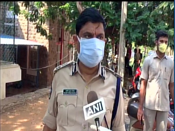RK Meena, CP Visakhapatnam city speaking to ANI on Thursday.