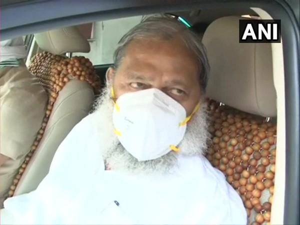 Haryana Health Minister Anil Vij (Photo: ANI)