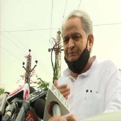 Rajasthan Chief Minister Ashok Gehlot (File photo/ANI)