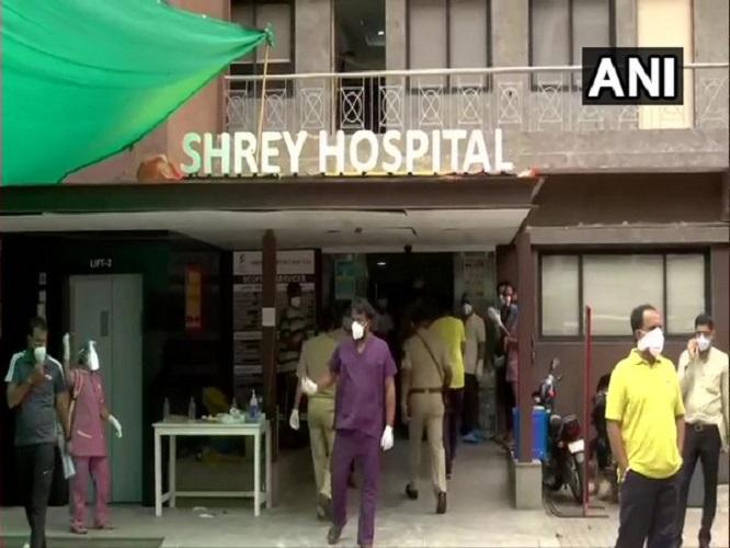 Visual from Shrey Hospital Ahmedabad, Gujarat. (Photo/ANI)
