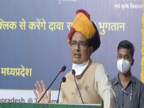 Madhya Pradesh Chief Minister Shivraj Singh Chouhan speaking in Ujjain on Friday.