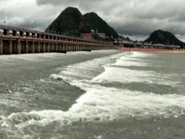 The Prakasam barrage. (Photo/ANI)
