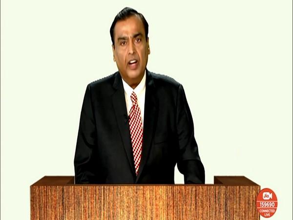 Reliance Industries Ltd (RIL) Chairman and Managing Director Mukesh Ambani